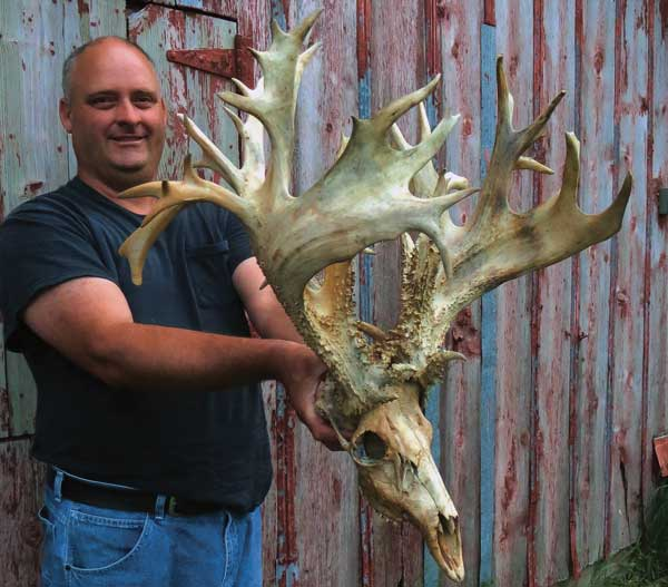 October 21, 2013  written by Gordon Whittington & Mike Charowhas Read more: http://www.northamericanwhitetail.com/2013/10/21/new-kansas-state-record-whitetail-tops-300-inches/#ixzz2iUNLYdzt