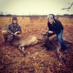Cody Vaughan & Clayton Smith - Azle, TX - Low Fence Red Stags in Wise County