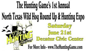 The Hunting Game EXPO Banner 1