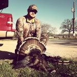 Good Ol Billy! First Turkey with a bow!